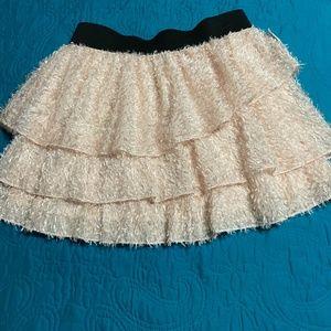 Blush Pink Feathery Skirt